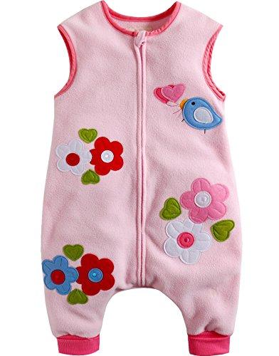 Vaenait Toddler Fleece Wearable Blanket
