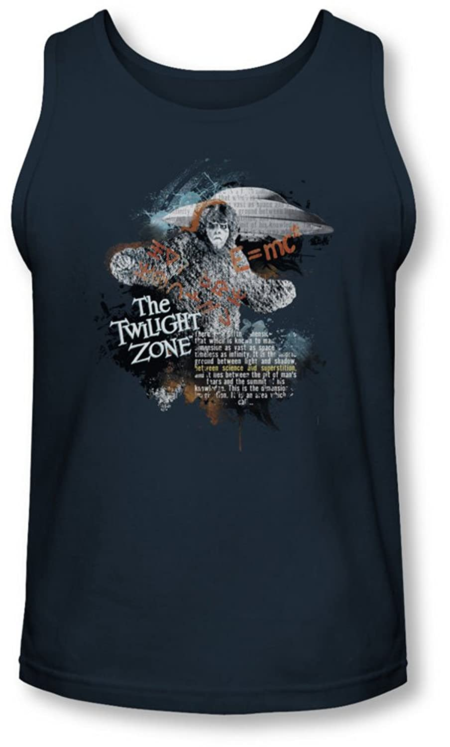 Twilight Zone - Mens Science&Superstition Tank-Top