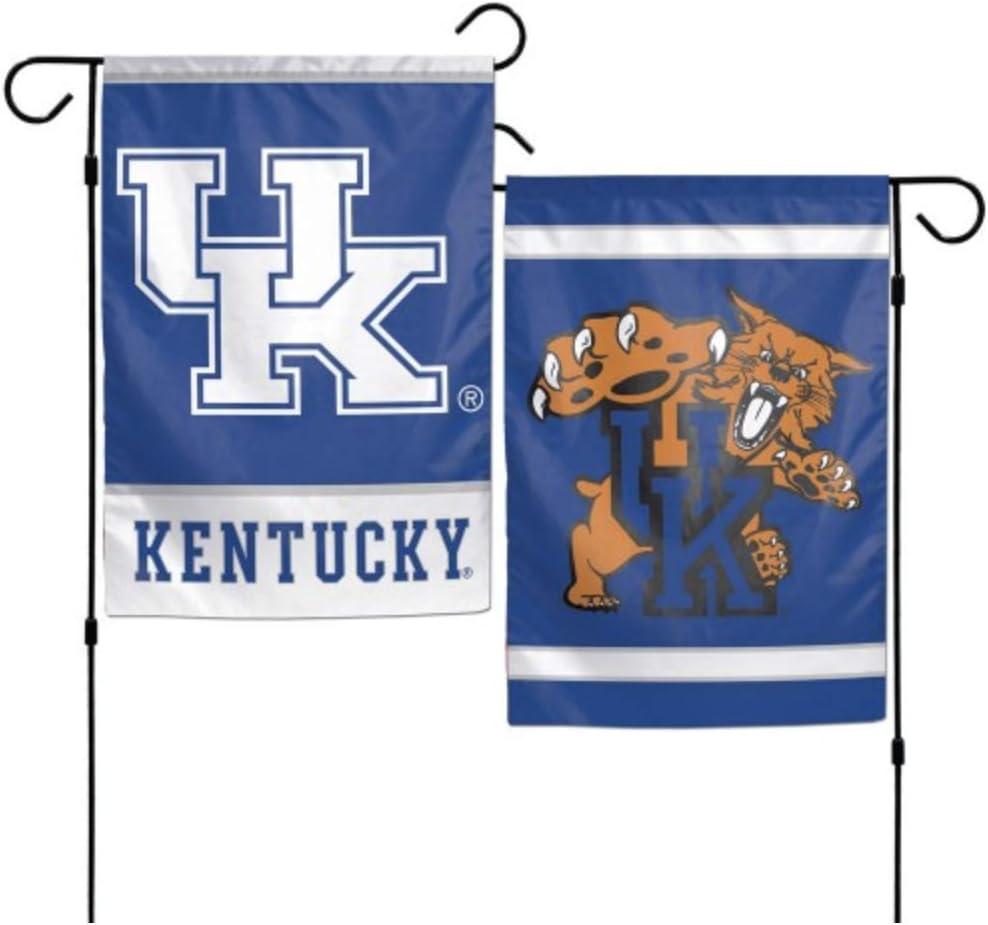 NCAA University of Kentucky Wildcats 12x18 Inch 2-Sided Outdoor Garden Flag