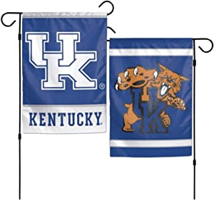 NCAA University of Kentucky Wildcats 12x18 Inch 2-Sided Outdoor Garden Flag