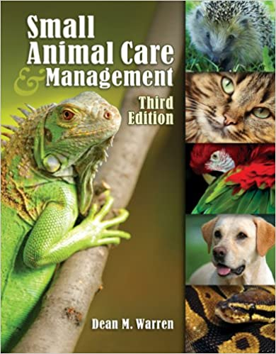 Book Small Animal Care and Management