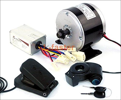 24ボルト250ワット電動ブラシ付きdcモータ電動スクーターdiy 250ワットモーターキットe-バイクエンジン高速モータで11歯スプロケット [並行輸入品] B07BF8QDVSpedal kit