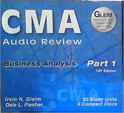 ##FB2## CMA Audio Review (Part 1) Business Analysis (14th Edition). VOLOOMIX derive range ayuda Social Income