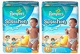 Pampers Splashers Swim Pants (Size 6) - 2 Pack