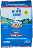 Natural Balance Original Ultra Whole Body Health Small Breed Bites - Chicken - Chicken Meal - Duck Meal - 12 lb