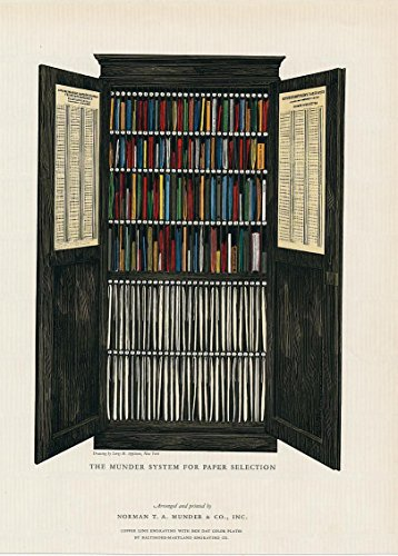 cathedral-interior-munder-paper-filing-system-1927-vintage-colorful-print