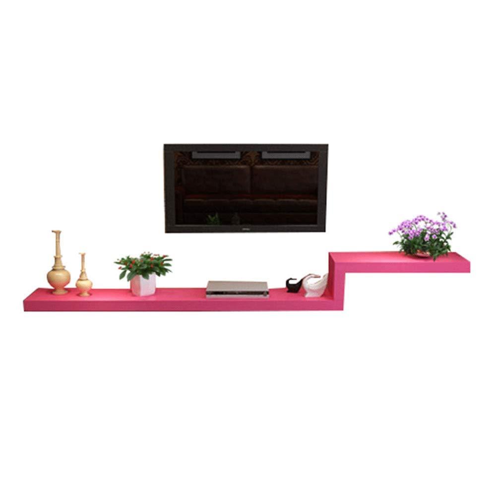 Wand-Trennwand Set-Top-Box HinterGründ Wand Regal einfache Schminktisch TV-Schrank Kombination [Vier Farben optional] 100 120 140 160 180   200cm (Farbe   C, größe   120cm) A 100CM