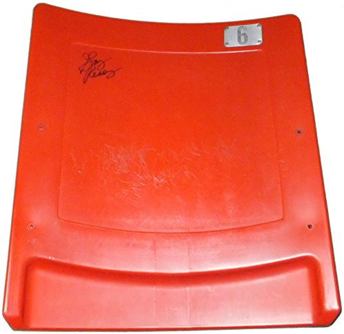 GARY REASONS SIGNED GIANTS STADIUM MEADOWLANDS GAME USED SEATBACK NY JETS COSMOS