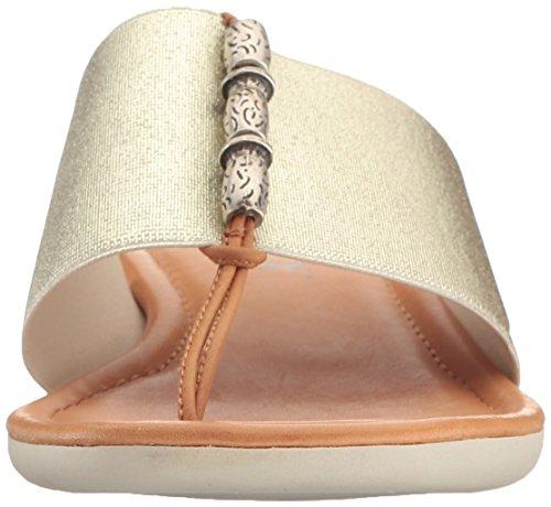 Cognac The Women's Vacche Elastic Lam Maker Flop Flip Gold Rain Flexx WBff1gRqp