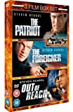 The Foreigner/The Patriot/Out Of Reach [DVD]