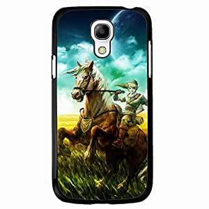 Link Picture Black Hard Plastic Case Cover For Samsung Galaxy S4 MINI Legend of Zelda Series