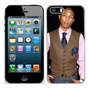 Pharrell Williams Case Fits Iphone 5s Cover Hard Protective Skin 2 for Apple I Phone 5 S Mobile