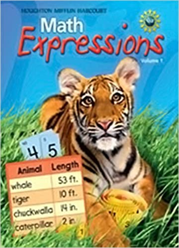 Math Worksheets houghton mifflin math worksheets grade 5 : Math Expressions, Grade 5, Vol. 1, Student Activity Book: HOUGHTON ...