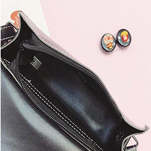 Messenger cuir Tassel Femmes Patte de Sac Petit à en Noir Sacs Mode d'Ours Crossbody épaule Laser Sac Main De Rawdah vTCCwZFq
