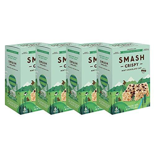 Rice Crispy by SMASHMALLOW | Non GMO | Gluten free | 24 Ct ()