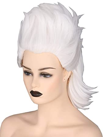 Amazon.com  Topcosplay Women or Girl Wig Short White Cosplay Halloween  Costume Wigs Witch Ghost Wig  Beauty 042413d052