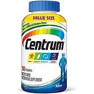 Centrum Men (250 Count) Multivitamin/Multimineral Supplement Tablet, Vitamin D3