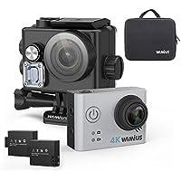 Action Camera 4K WIMIUS L2 Sony Sensor & Novatek 96660 Chipset FPV Wifi 12MP Waterproof Sports Camera(Silver)