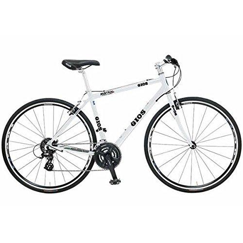 GIOS(ジオス) クロスバイク MISTRAL(ミストラル) 2018モデル(ホワイト) 400サイズ B079Z51JB9