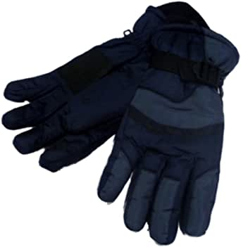 Norhthcrest Mens Gray /& Blue Waterproof Snow /& Ski Gloves Winter Snowboarding