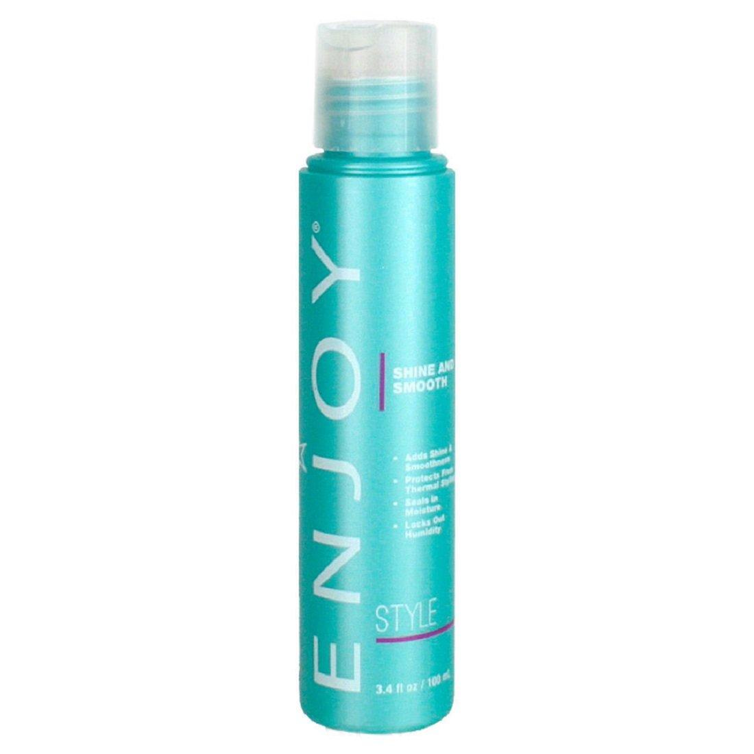 ENJOY Shine and Smooth (3.4 OZ) Hair Shine and Smooth Enhancing Formula to Repair Damaged Hair