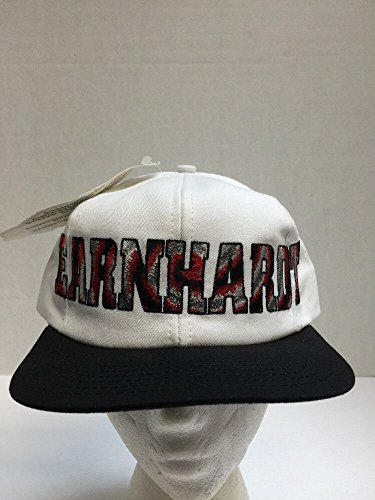 Dale Earnhardt Sr #3 White & Black Block Letters Hat Cap One Size Fits Most OSFM Chase Authentics