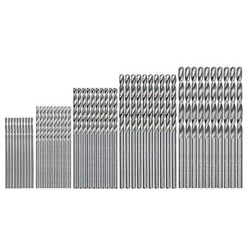 - Drill Bits - 50pcs Titanium Coated Drill Bits Hss Speed Steel Set Power Hand 1 1.5 2 2.5 3mm - Masonry Canister Magnetic Make 3/32 Brake Angle Oxide Head Black Countersink Drywall Craftsman D