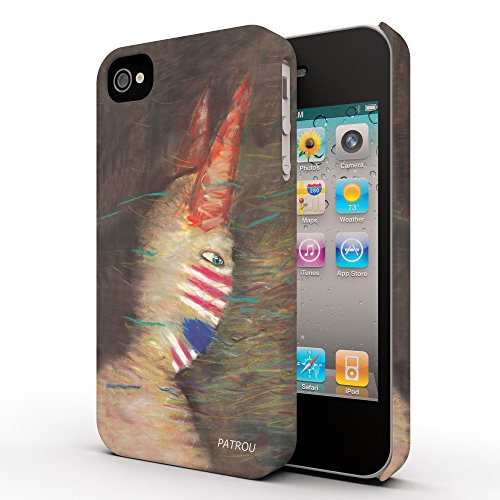 Koveru Back Cover Case for Apple iPhone 4/4S - The Evil