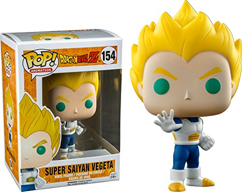 Dragon Ball Z: Super Saiyan Vegeta Funko POP Vinyl Figure AAA Anime ()