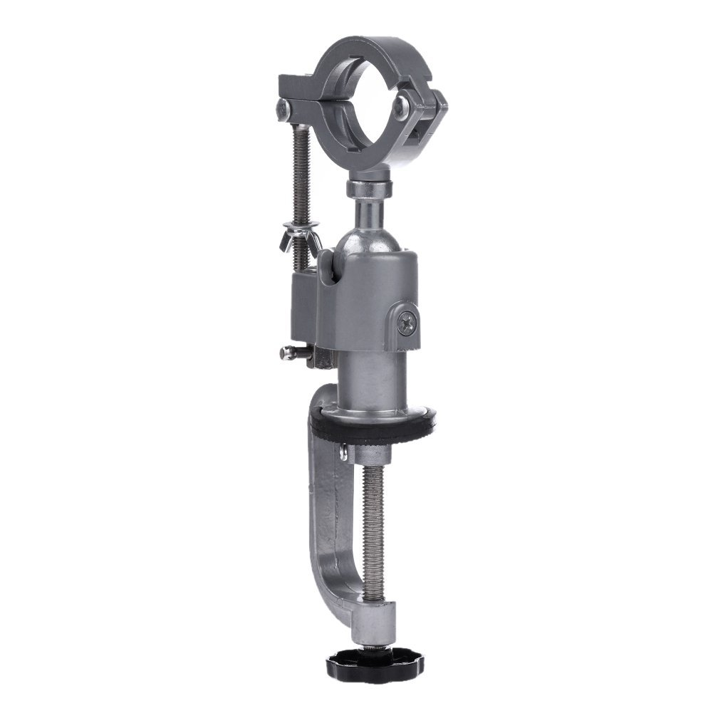 Universal Clamp-on Bench Vises Holder Mini 360 redating Electric Drill Stand Make The Grinder Flat