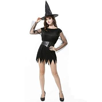 Xinxinchaoshi Ropa de la Novedad Traje de la Bruja de Halloween ...