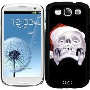 Funda para Samsung Galaxy S3 (GT-I9300) - Navidad Negro by zombierust