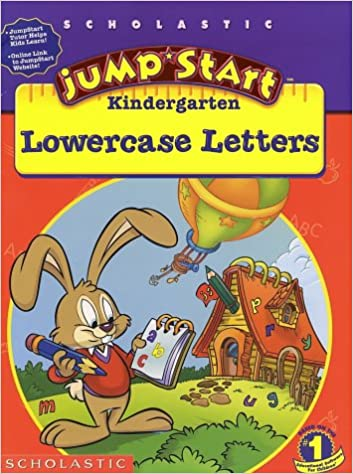 JumpStart Kindergarten Lowercase Letters Workbook: Liane Onish ...