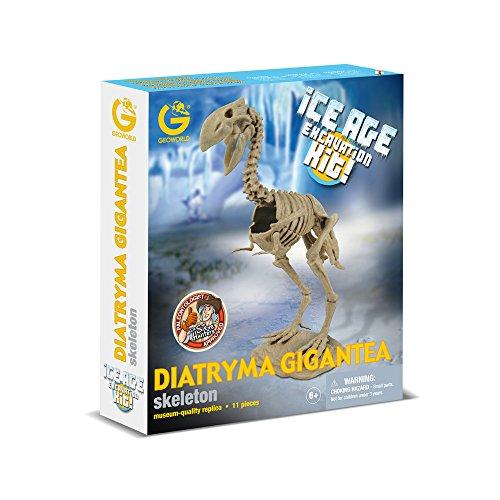 Geoworld - Cl752k - Kit D'excavation - Ice Age - Diatryma Gigantea