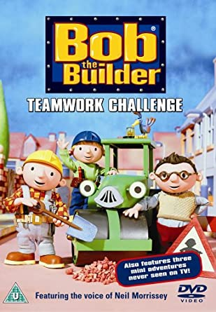 Bob The Builder - Teamwork Challenge [DVD] [1999]: Amazon.co.uk ...