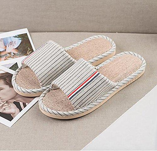 Zapatillas 44 Chancletas Mujeres Plano Interior Baño Verano 45 E D Menaje Lino SHANGXIAN Zapatos PTqXwgT