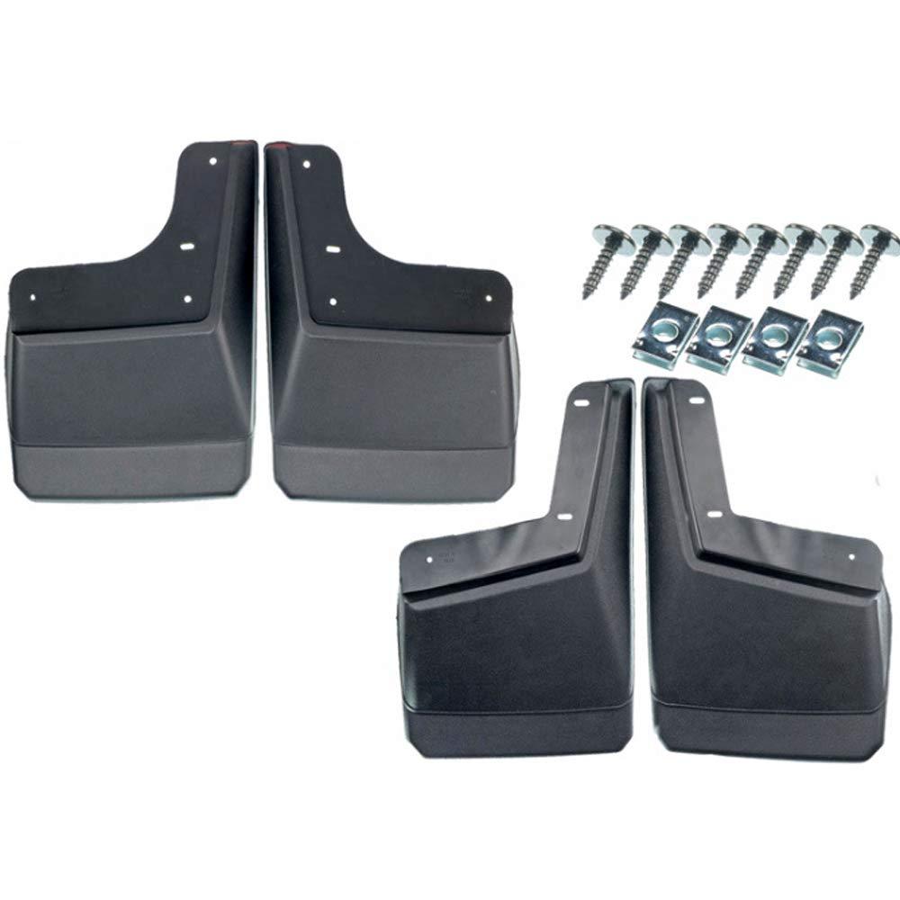 BOHENG Garde-Boue Environ 54 * 15 * 26 mm Garde-Boue Accessoires de Pneu de Voiture Noir Garde-Boue Hummer H2 Garde-Boue Hummer H3