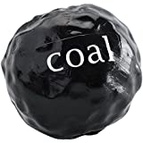 Planet Dog Lump of Coal Dog Toys, Black