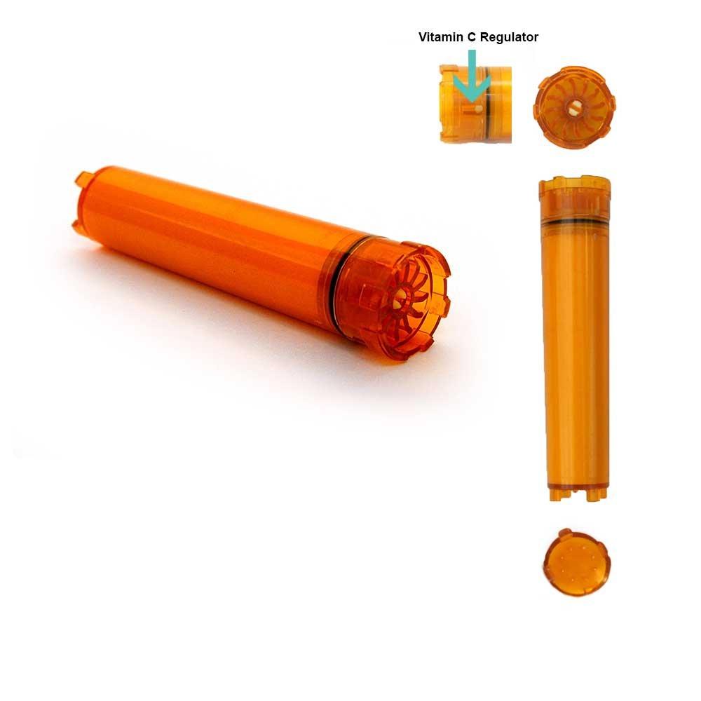 Sonaki Vitamin C Shower Filter Cartridge - (1 Pack of 5) Vitamin C Filter Refills - Remove 99.9% of Chlorine and Chloramines VCF-05