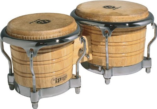 Latin Percussion LP Generation IIÂ Bongos, Natural/Chrome by Latin Percussion