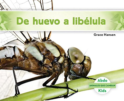 de Huevo a Libxe9;lula (Becoming a Dragonfly) (Animales Que Cambian (Changing Animals)) (Spanish Edition) by Abdo Kids