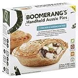 chicken and mushroom pie - BOOMERANGS Handheld Aussie Pies, Chicken and Mushroom