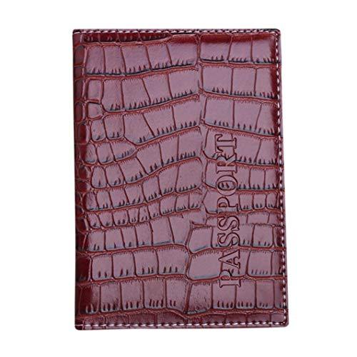 Kimloog Clearance Leather Passport Blocking