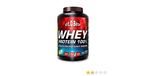 Vitobest Whey Protein 100%, Aroma de Chocolate - 1814 gr: Amazon.es: Salud y cuidado personal