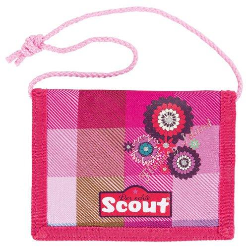 Scout Brieftasche Fahrausweishülle, Pink