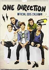 Official One Direction 2015 Calendar: 9781780545479