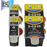 4x Cartuchos de impresora para Samsung INK-C210INK-M210CJX-1000CJX-1050W CJX-2000FW