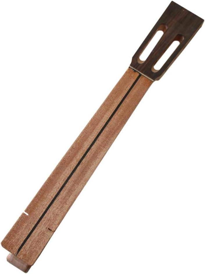 gazechimp Caoba Mástil Clásica Cuello de Guitarra Clásica Fabricación de Partes de Violín de Guitarra - 600x85x97mm