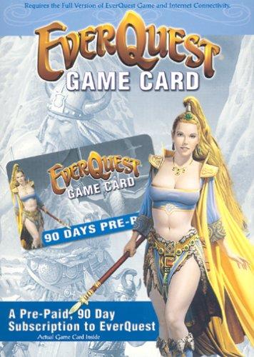EverQuest 90-Day Prepaid Game Card - Windows Countdown