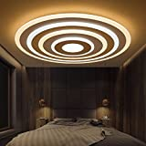 YI.LAN.YI LIGHTS Das LED-Muster deckenleuchte Rund 29 35 40 100 CM ...